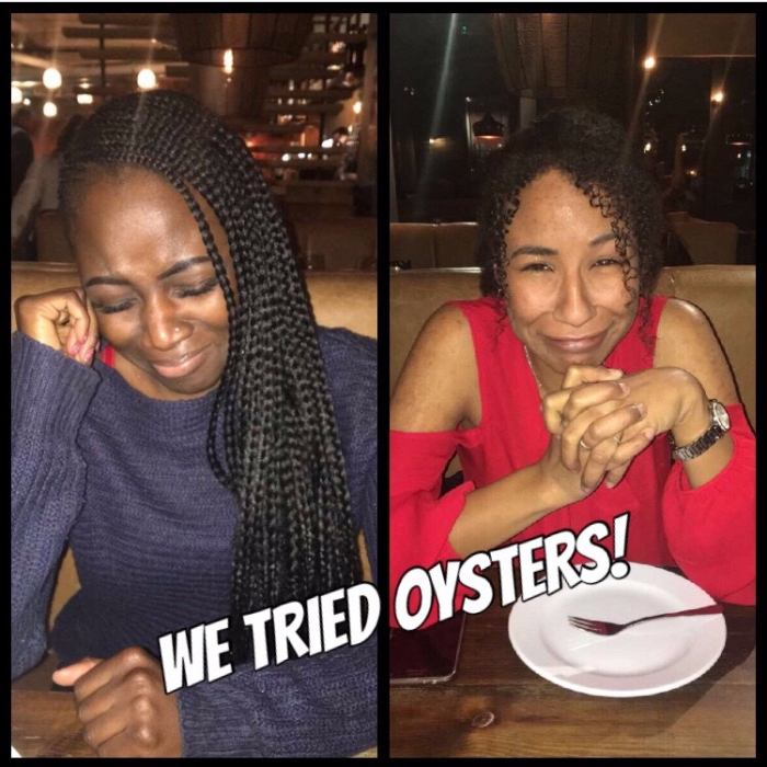 I tried Oysters!